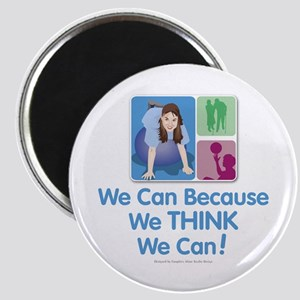 We Think We Can... Magnet