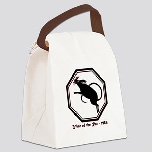 Year of the Rat - 1984 Canvas Lunch Bag