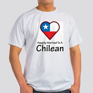 Happily Married Chilean Ash Grey T-Shirt