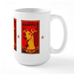Obey the Whippet! Large dog Mug