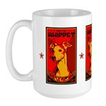 Obey the Whippet! Large dog Mug