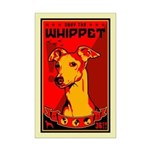 Whippet! Mini Poster dog Print