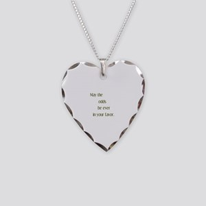 Odds Favor Necklace Heart Charm