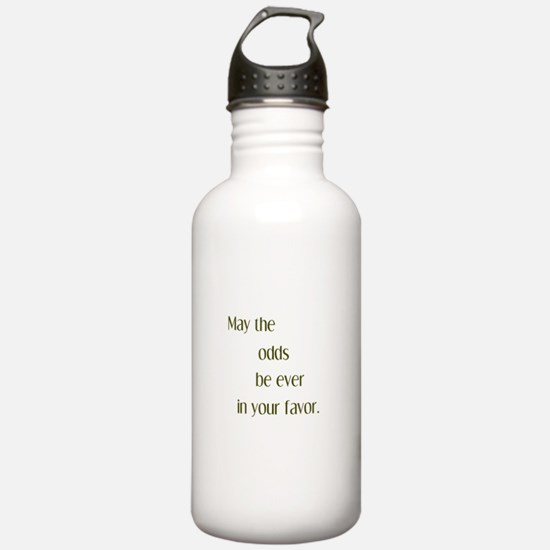 Odds Favor Sports Water Bottle