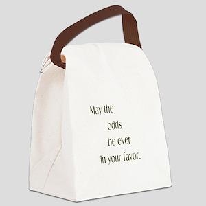 Odds Favor Canvas Lunch Bag