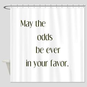 Odds Favor Shower Curtain