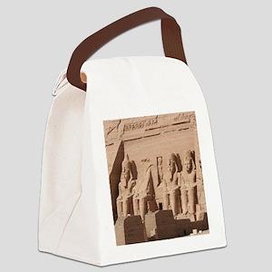 AbuSimbel001 Canvas Lunch Bag