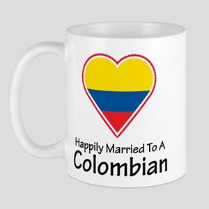 Happily Married Colombian Mug
