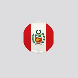 Peru's flag Mini Button