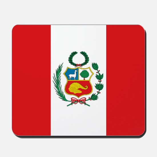 Peru's flag Mousepad