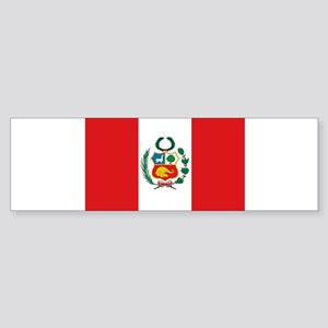 Peru's flag Bumper Sticker