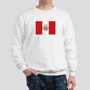 Peru's flag Sweatshirt