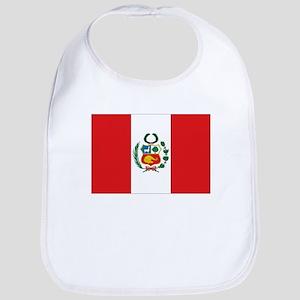 Peru's flag Bib