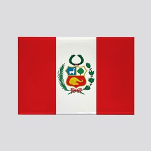 Peru's flag Rectangle Magnet