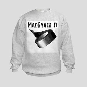MacGyver It. Duct tape Kids Sweatshirt