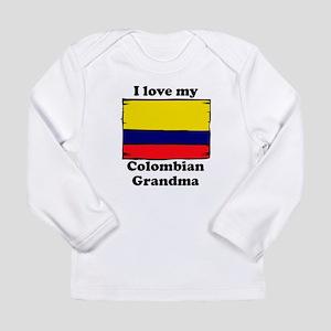 I Love My Colombian Grandma Long Sleeve T-Shirt