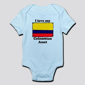 I Love My Colombian Aunt Body Suit