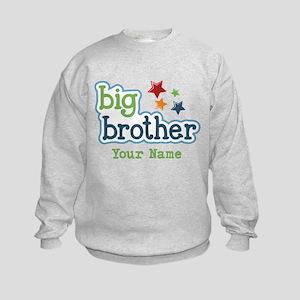 Personalized Big Brother Kids Sweatshirt