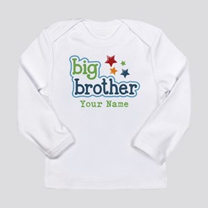 Personalized Big Brother Long Sleeve Infant T-Shir