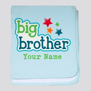 Personalized Big Brother baby blanket