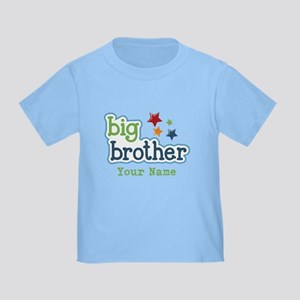 Personalized Big Brother Toddler T-Shirt