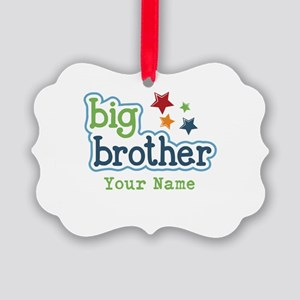 Personalized Big Brother Picture Ornament