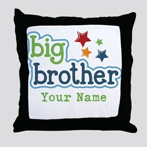 Personalized Big Brother Throw Pillow