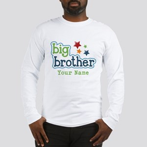 Personalized Big Brother Long Sleeve T-Shirt