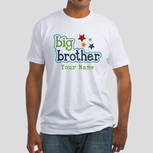 Personalized Big Brother Fitted T-Shirt