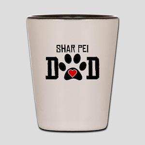 Shar Pei Dad Shot Glass