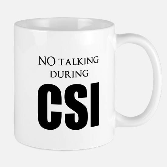 No Talking Mugs