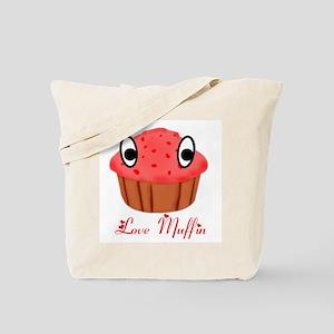 Valentine's Day Love Muffin Tote Bag