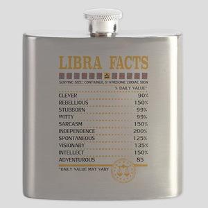 Libra Facts Zodiac Flask
