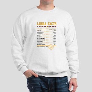 Libra Facts Zodiac Sweatshirt