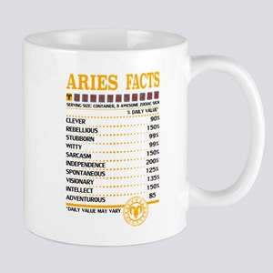Aries Facts Mugs