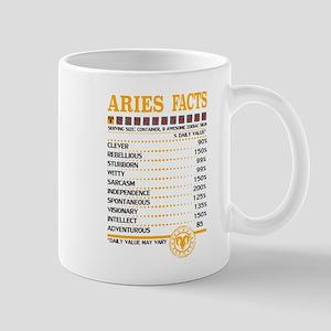 Aries Facts Mugs