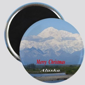 Mt. McKinley Alaska Magnets