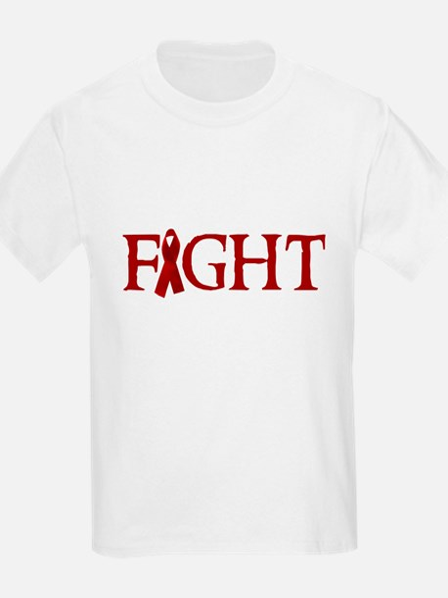FIGHT AIDS Kids T-Shirt