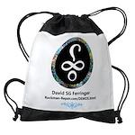 Davids logo Drawstring Bag