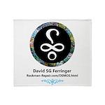 Davids logo Throw Blanket