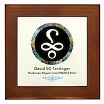 Davids Logo Framed Tile