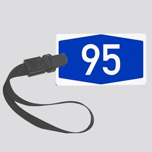 Number 95 Luggage Tag