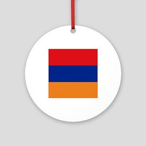 Armenia's flag Ornament (Round)