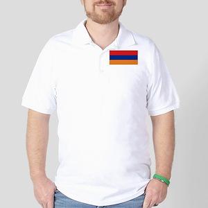 Armenia's flag Golf Shirt