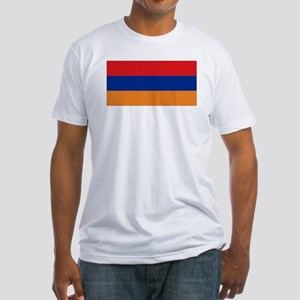 Armenia's flag Fitted T-Shirt