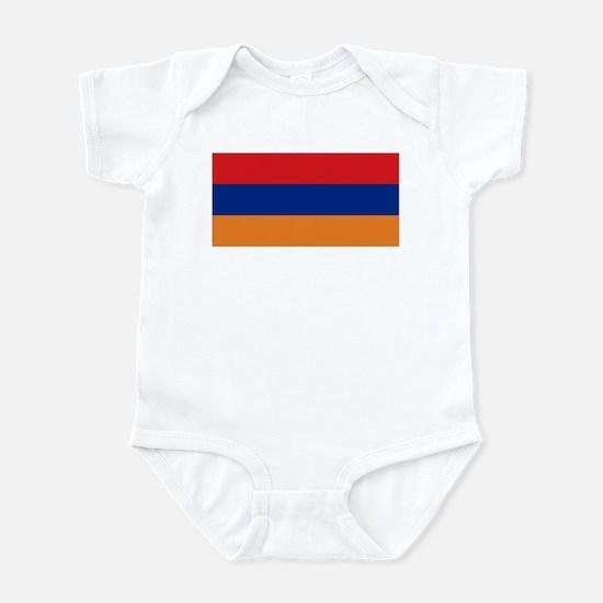 Armenia's flag Infant Bodysuit