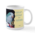 Blue Quaker Mug