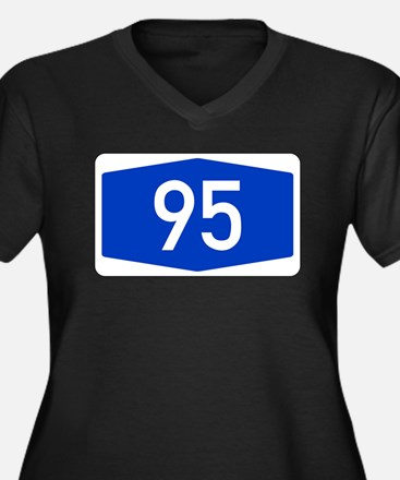 Number 95 Plus Size T-Shirt