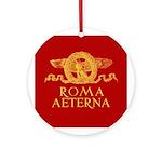 Roma Aeterna Round Ornament- Ornamento tondo