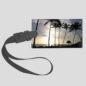 Tropical paradise, San Juan, Pue Large Luggage Tag